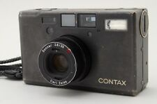 [Exc+++]  Contax T3 Carl Zeiss 35mm Point & Shoot Film Camera In Black Japan