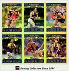 2010 AFL Teamcoach Trading Card Gold Parallel Team Set West Coast (12)
