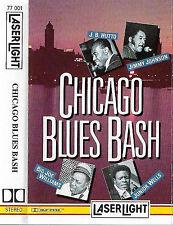 VARIOUS CHICAGO BLUES BASH J B HUTTO JIMMY JOHNSON JUNIOR WELLS CASSETTE ALBUM