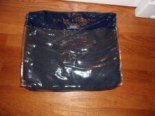 Nip Ralph Lauren Durant Kira Annalina Deep Blue King Bed Blanket $430
