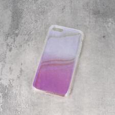 ^ Ombre Gradient Transparent Handy Schale HÜLLE Case Rosa Samsung Galaxy A6