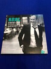 neu Brel david Linx Brussels jazz orchaestra CD Promo Kopie jazz Village 2016