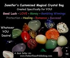 Magical Good Luck Crystals Amulet Bag To Help Me Win Money Love Success Lottery