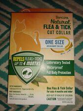 Tropiclean natural flea tick cat kitten collar breakaway 4 month protection New