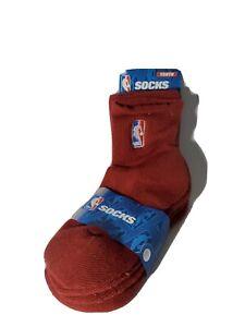 NBA League Gear For Bare Feet NBA 2 Pack Quarter Sock - Boys Maroon Size 13,1-5