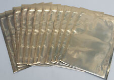 Gold Vacuum Bags With Euro Slot 160x250   100 Bags