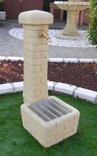 BONFANTE Fontana Fontanella da giardino pietra ricostruita CLEVELAND Tufo