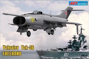 "ART Model - 7203 - Yakovlev Yak-36 ""Freehand"" - 1:72"