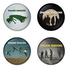 Imagine Dragons, C - 4 chapas, pin, badge, button