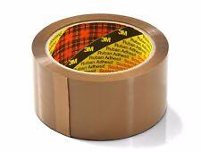 6 x Original 3M Buff Brown Scotch Parcel Tape 48mm x 66m