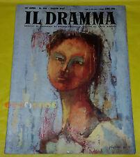 IL DRAMMA 1957 n. 246 - Copertina Piero Garino - Opere: vedi inserzione