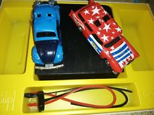 Smash Up Derby Exc cond Playset Kenner Ssp Stars and Stripes wagon and buggem