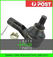 Fits SSANG YONG RODIUS/STAVIC 2002-2013 - Steering Rack Tie Rod End