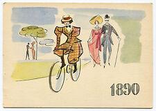 LA STORIA DELLA BICICLETTA, 1^ SERIE I PIONIERI, PIRELLI 1890, BY PIRELLI    m