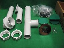 WATCO 590-PF-PVC-CP CHROME INNOVATOR PRESFLO TUBULAR PVC BATH TUB WASTE DRAIN