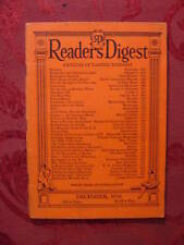 Readers Digest December 1930 Louis Adamic Stuart Chase Sigmund Spaeth Skyscraper