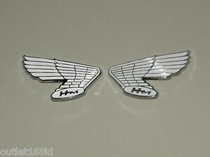 NOS Genuine OEM HONDA CB100 CL100 CB175 CL175 CB350 Fuel Gas Tank Emblem Badge