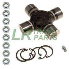 LAND ROVER DEFENDER 90 110 TD5 WIDE ANGLE UNIVERSAL JOINT UJ & LOCK NUTS STC4807