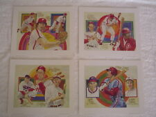 SCHMIDT,ROSE,CARLTON,ALLEN - 1983 PHILADELPHIA PHILLIES PEREZ - STEELE LITHO