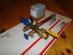 1.25 x 14 TANK TEE KIT Water Well Pump Pressure Tank SQUARE D 30 50 FSG2 SWITCH