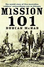 MISSION 101....  AUSTRALIANS IN WORLD WAR 11.......DUNCAN McNAB