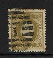 Portugal SC# 39, Used, Perf 12.5, some close perfs - Lot 072317
