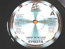"SYREETA-I Must Be in Love 7"" vinyl"