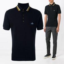 VIVIENNE WESTWOOD MAN Classic Pique Cotton Polo Shirt, COLOURS AND SIZES