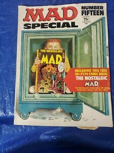 Mad Magazine Special # 15 1974 With Comic