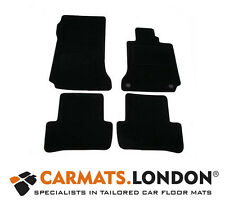 Mercedes C Class 2007 - 2012 (W204) Tailored Car Floor Mats (Manual) in Black