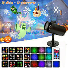 Christmas Wave Ocean Projector Lights 2 In1 LED Lights Party Yard Garden Decor