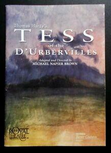 Tess Of The D'Urbervilles programme 1998 Royal Northampton Theatre Sarah Tansey