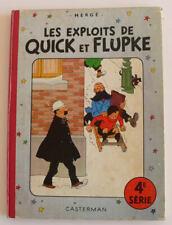 Les exploits de Quick et Flupke 4 ème série (Français) Album