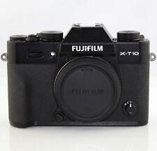 Fujifilm X-T10 Systemkamera Gehäuse (16,3 Megapixel CMOS II Sensor) schwarz