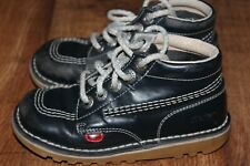 KICKERS SIZE UK 11 EUR 29 BABY BOYS LEATHER BOOTS