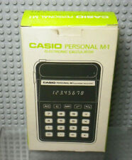 CASIO M-1 - Calculatrice Vintage - Made in Japan