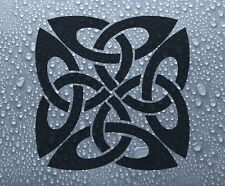 Celtic knot symbol #1 vinyl window decal sticker - DEC1052