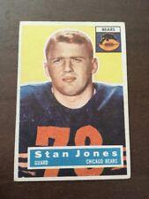 1956 Topps Stan Jones Rookie 71 Nice Centering