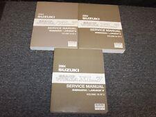 2004 Suzuki Grand Vitara & XL-7 Shop Service Repair Manual Vol1-3 2.5L 2.7L V6