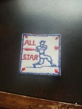 Vintage 1950-60 All Star Baseball Patch