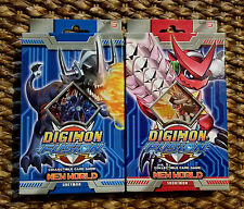 Digimon Fusion CCG New World Greymon & Shoutmon Starter Decks