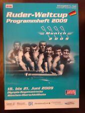 FISA Rowing World Cup Programme Munich 2009
