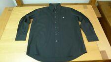 Lacoste black long sleeve men's shirt size 45