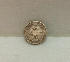 HONG KONG  KG VI  10 cents 1949  #1