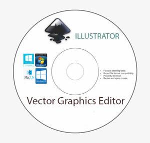 Vector Graphics Editor Illustrator PRO Digital Delivery Win UK Stock
