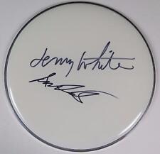 MILES DAVIS BAND Signed Autograph Drumhead by Jack DeJohnette & Lenny White