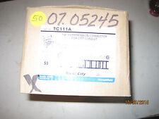 "50 pcs  Thomas & Betts EMT 1/2"" Straight Compression Conduit Connectors lot L466"