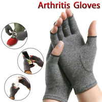 1 PAIR Arthritis Compression Gloves Pressure Hand Support Heal Joint Pain Relief