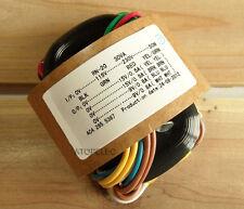 115V/230V 30W r-core transformer pour ampli amplificateur micros dac 15V+15V 9V+9V