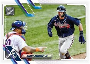 2021 Topps MLB DANSBY SWANSON - Digital NFT Card - Gold Mint #976 /2657 RARE!